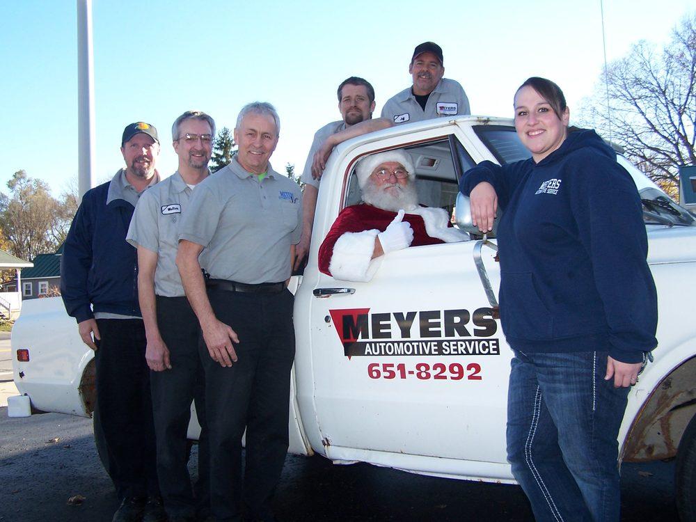 Meyers Automotive Service: 818 N Nottawa St, Sturgis, MI