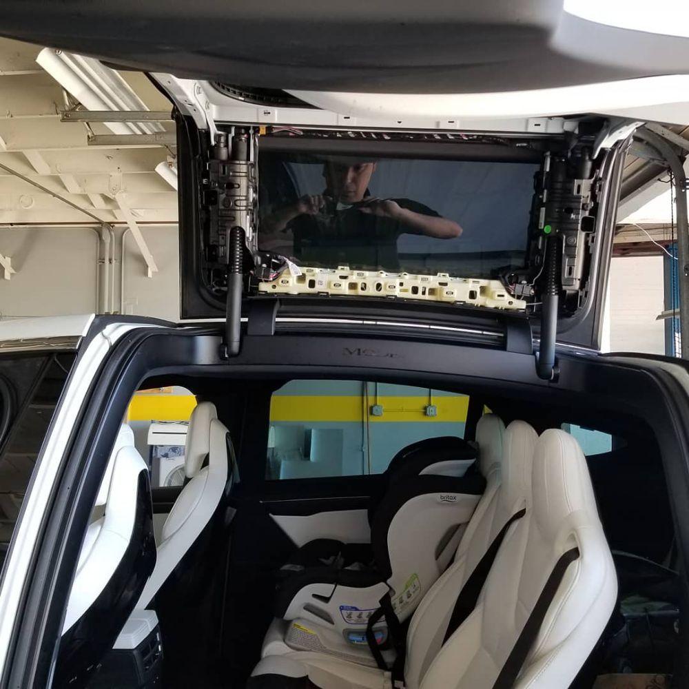 Tesla Model X Top Door Glass Replacement Yelp
