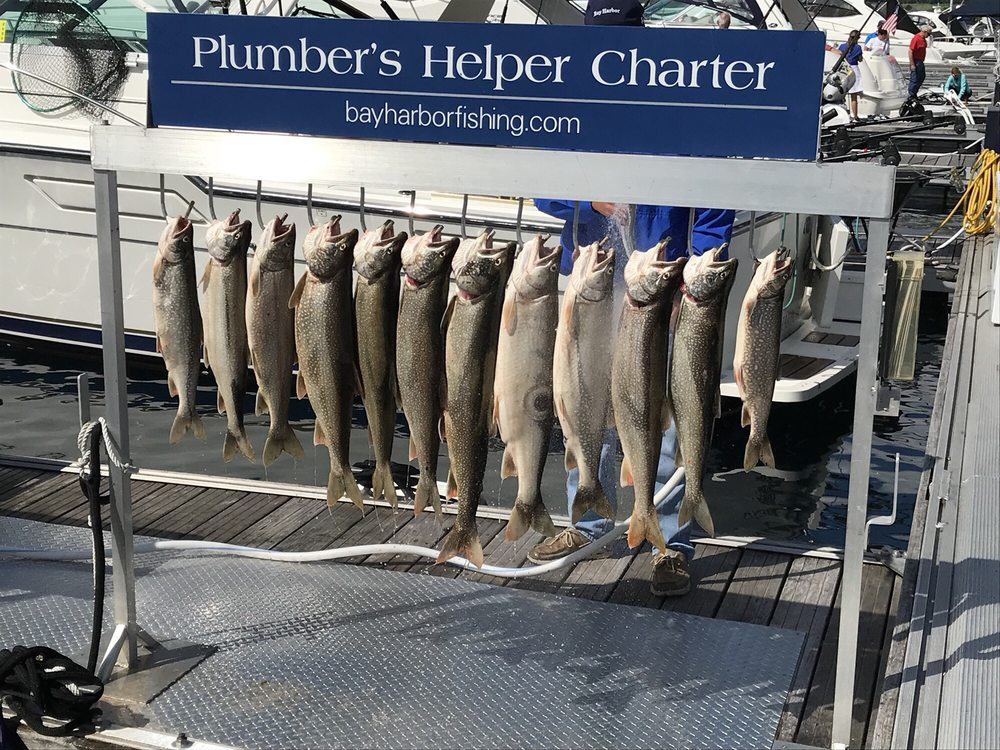 Plumber's Helper Charter Service: 832 Front St, Petoskey, MI