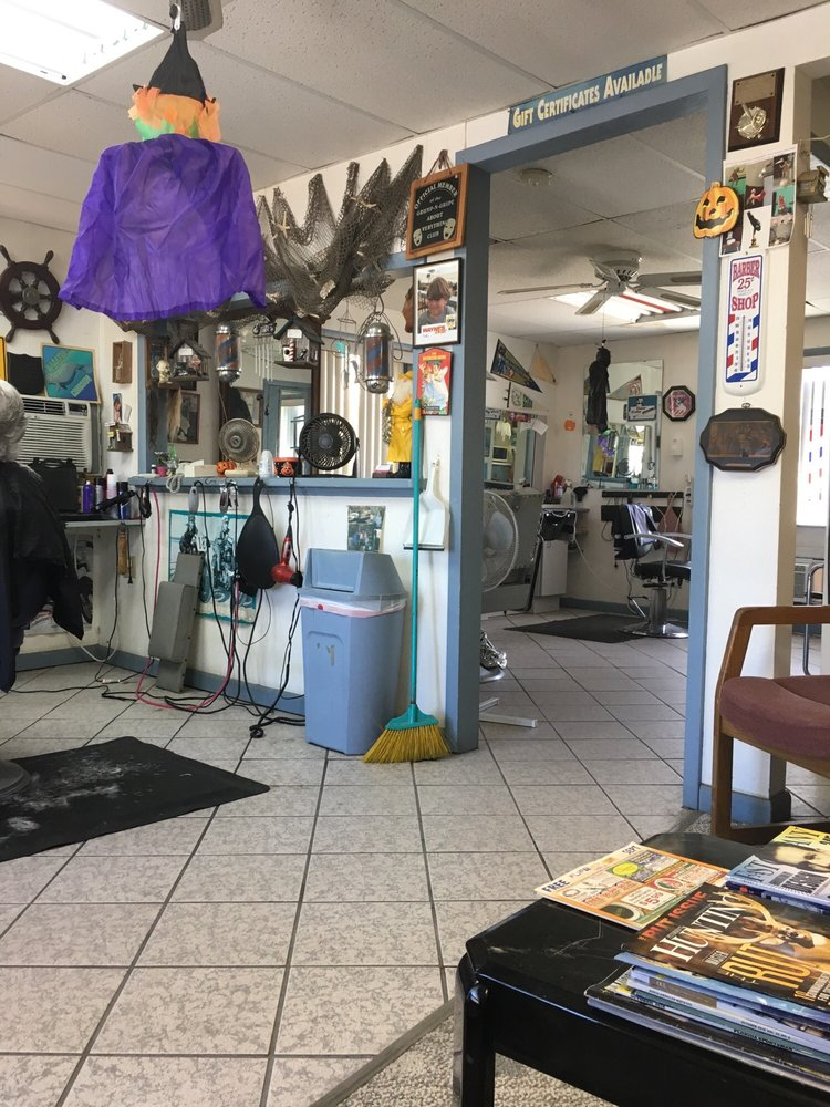 Odum's Barber Shop: 212 S Central Ave, Flagler Beach, FL