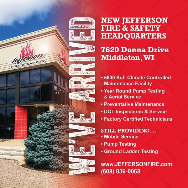 Jefferson Fire & Safety: 7617 Donna Dr, Middleton, WI