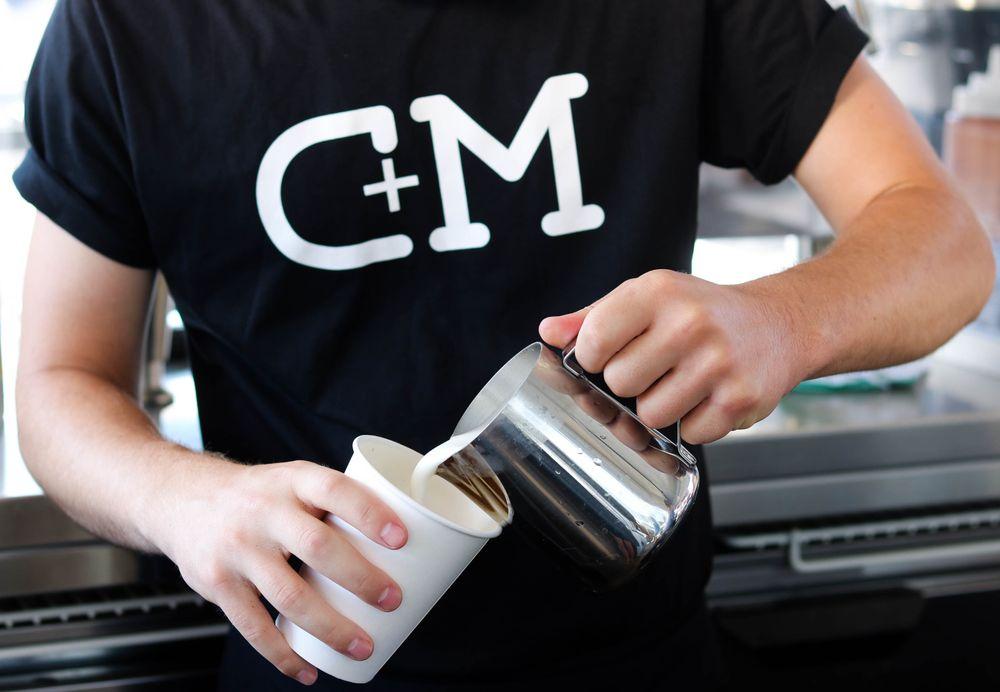 C+M Coffee and Milk: 3635 Express Dr N, Islandia, NY