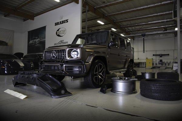 Brabus North America 1711 McGaw Ave Irvine, CA Auto Body
