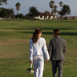 Photo Of Pismo Beach Weddings Grover Ca United States Walking Toward