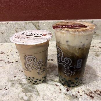 Gong Cha Chocolate Milk Tea