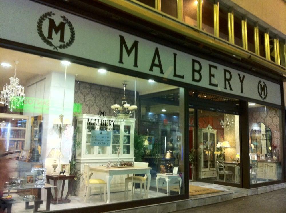 Malbery tienda de muebles calle cerrajer a 10 duque for Telefono registro bienes muebles madrid