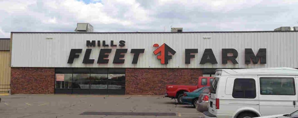 Mills Fleet Farm: 1101 W Upham St, Marshfield, WI
