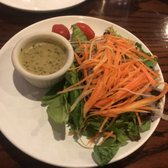 Photo of Lan Ramen-Ya - Coral Gables, FL, United States. Green salad with a delicious dressing.
