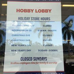 Hobby Lobby 13 Reviews Art Supplies 1000 Immokalee Rd Naples