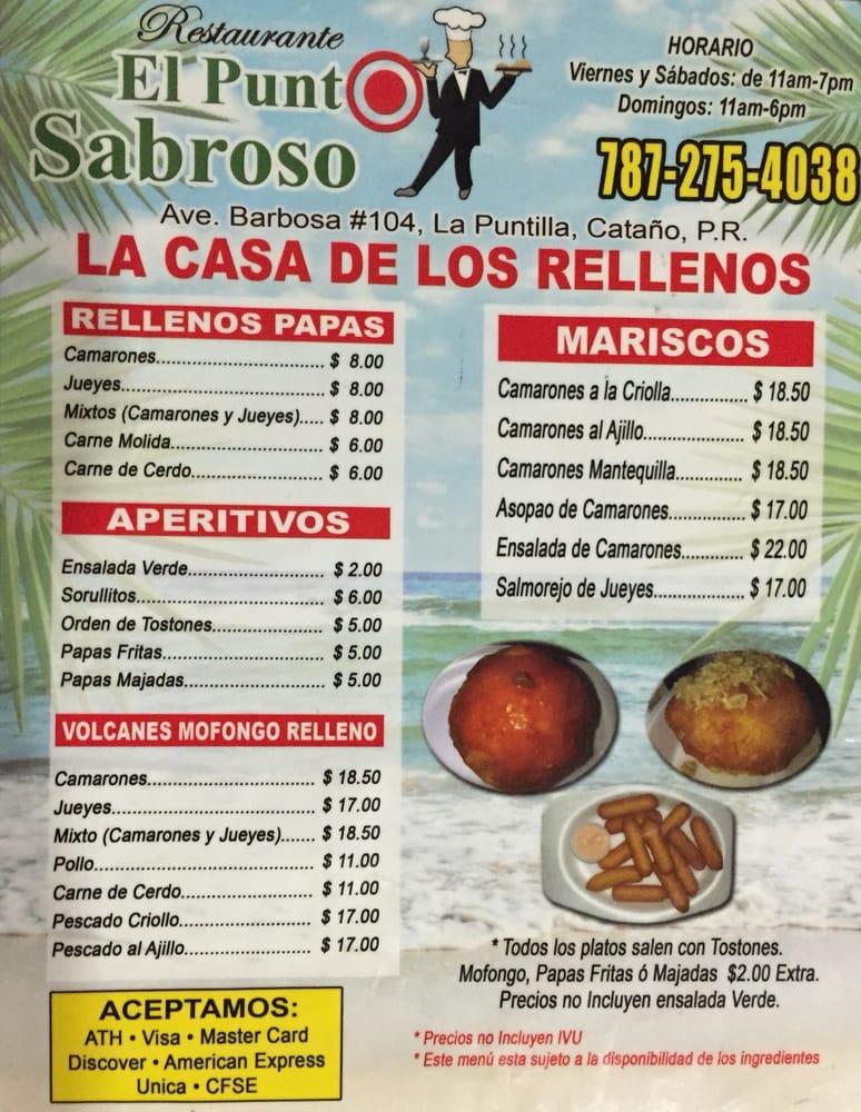 El Punto Sabroso: Ave Barbosa Calle 104, Cataño, PR