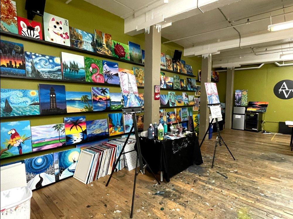 Social Spots from ArteVino Studio Hoboken
