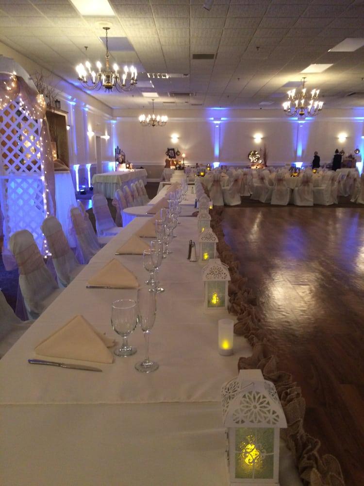 Wedding Reception In The Golden Antler Room Yelp