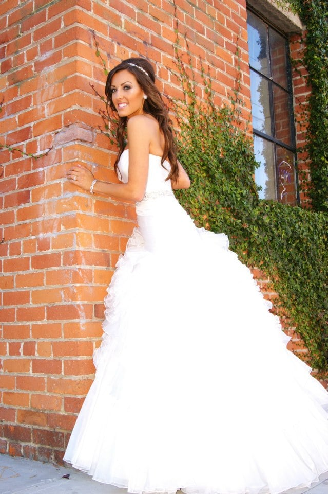 ivory organza maggie sottero ball gown yelp
