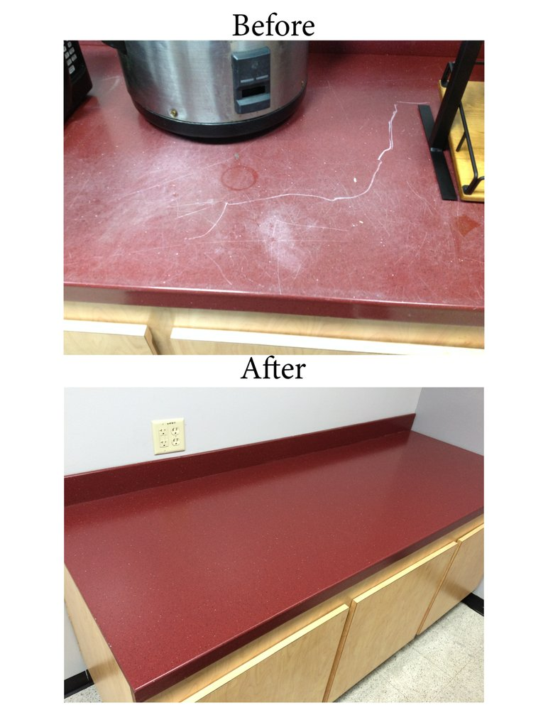 Photo Of All Surface Technology Orlando Fl United States Corian Countertops Refurbished