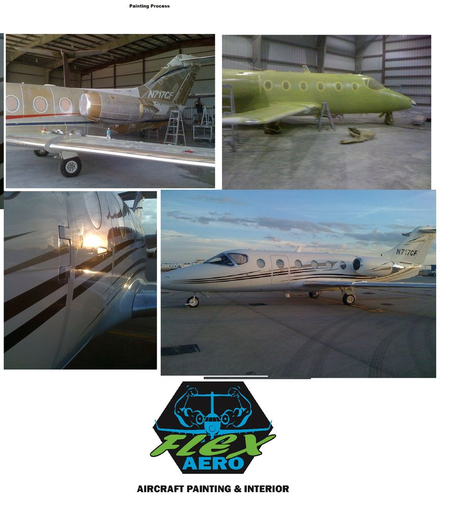 Aircraft Painting And Interior Services