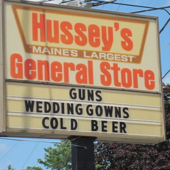 bdb881f9 Photo of Hussey's General Store - Windsor, ME, United States. Guns, Wedding