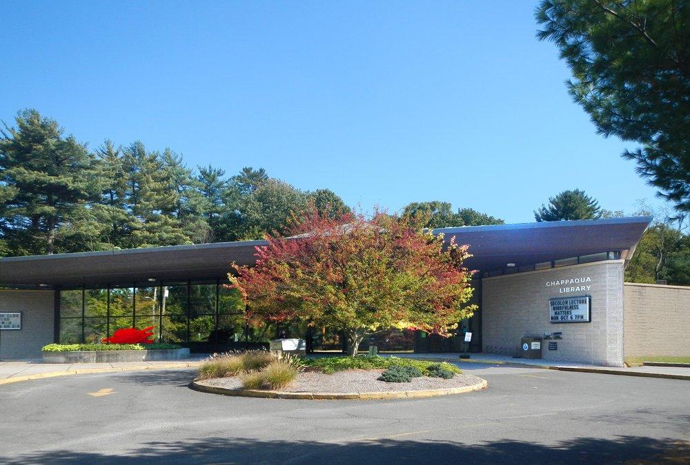 Chappaqua Library: 195 S Greeley Ave, Chappaqua, NY