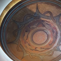 Photo Of Inwood Theatre Dallas Tx United States Mural On Ceiling