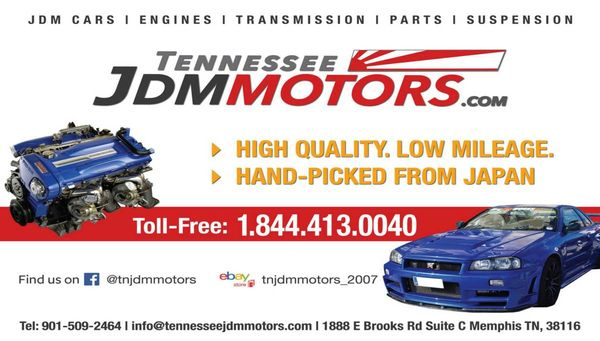 Tennessee JDM Motors - 1888 E Brooks Rd, Whitehaven, Memphis, TN
