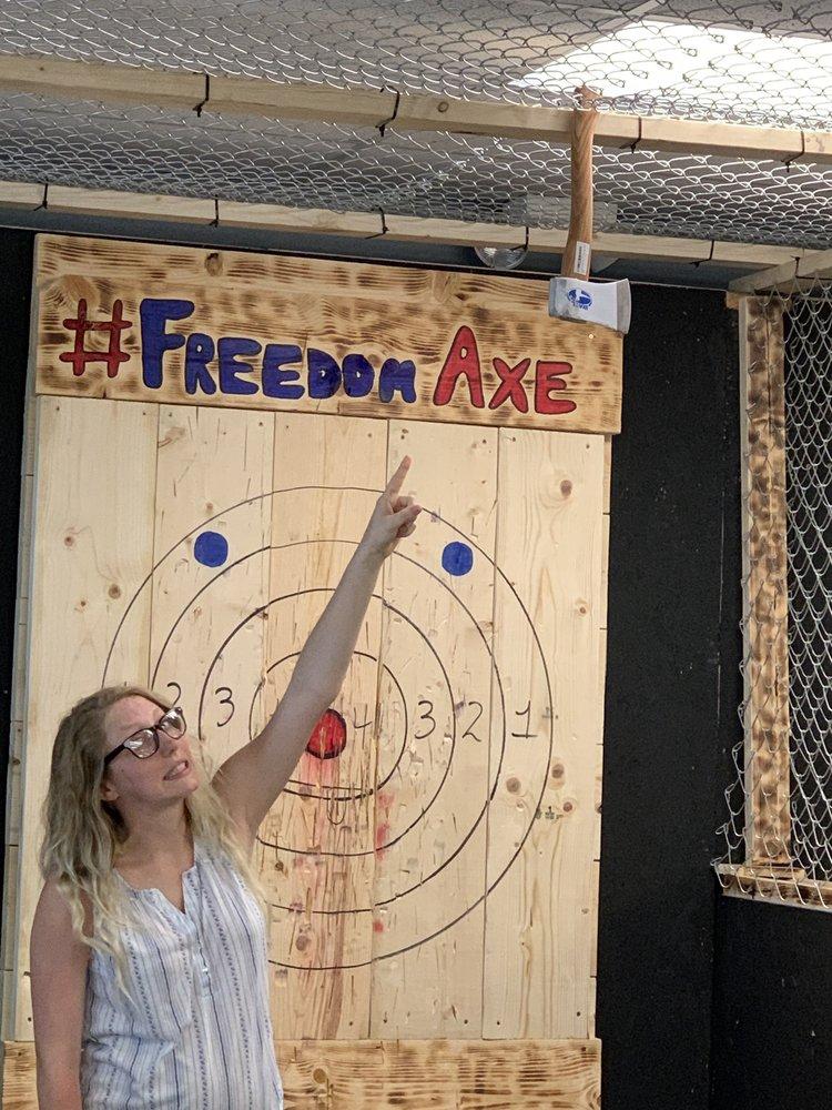 Freedom Axe Throwing: 320 Ichord Ave, Waynesville, MO