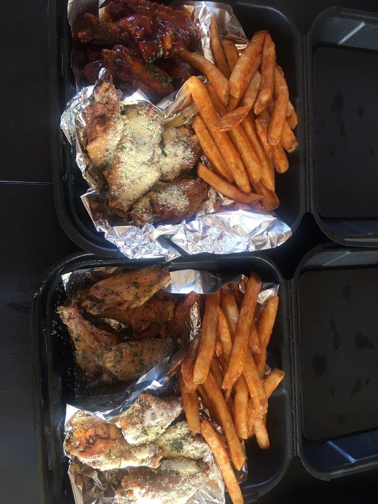 Food from WingMan Redlands