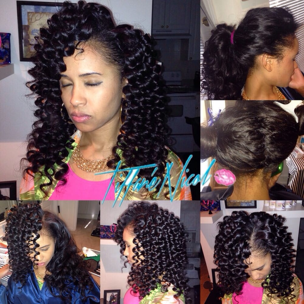 The Perfect Sewin By Tiffane Nicol Curly Virgin Hair Install Versatile Atlanta Sew In Weaving And Natural Care