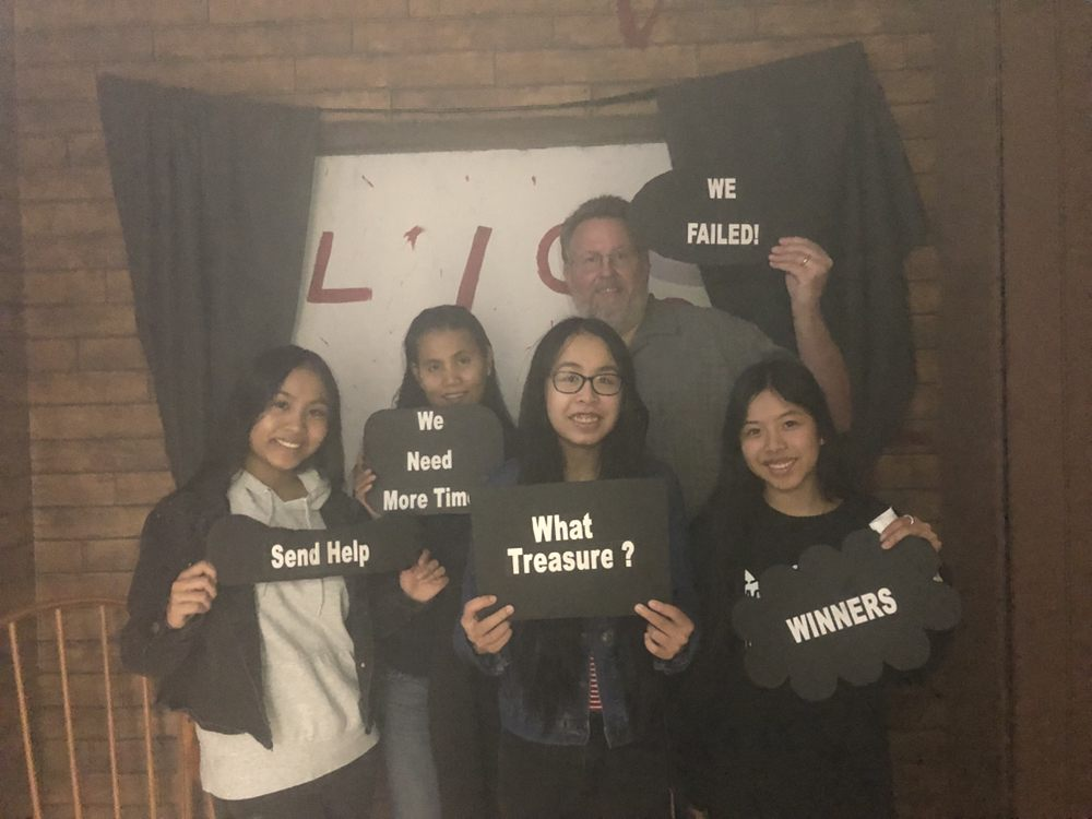 Unity Escape Rooms: 2015 W Park Ave, Redlands, CA