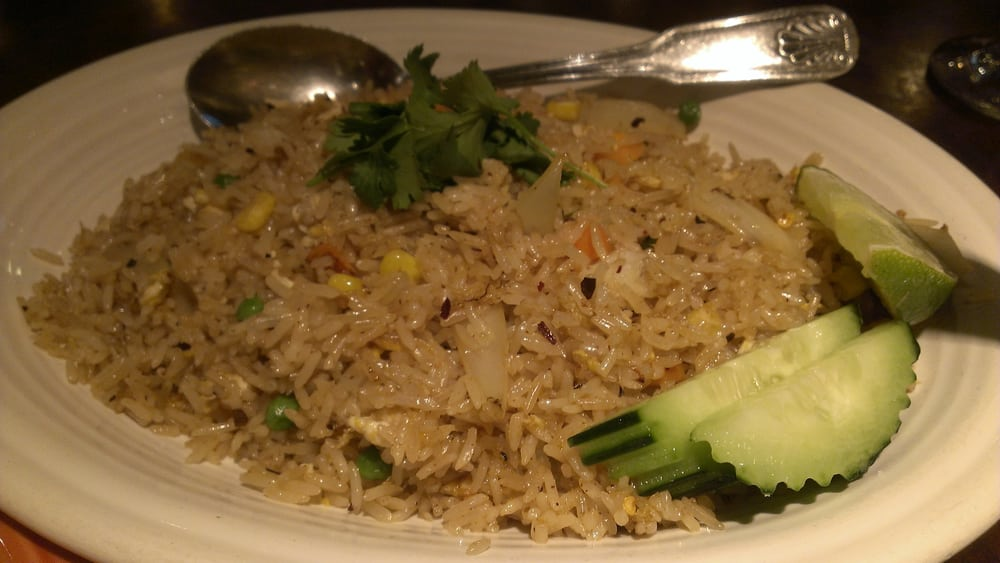 Crab fried rice yelp for Ayothaya thai cuisine puyallup wa