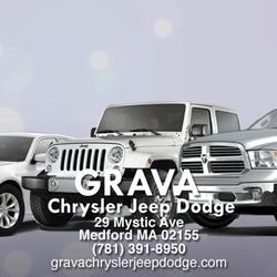 grava chrysler jeep dodge 54 reviews garages 29 mystic ave medford ma united states. Black Bedroom Furniture Sets. Home Design Ideas