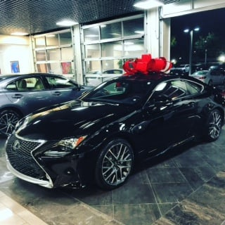 my rc 350 f sport merry christmas to me dealer marc berger yelp. Black Bedroom Furniture Sets. Home Design Ideas