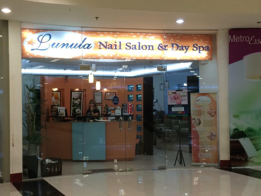 Lunula nail salon day spa dagspan robinsons metro for Salon meteo
