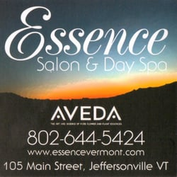 Essence Salon Day Spa Jeffersonville Vt