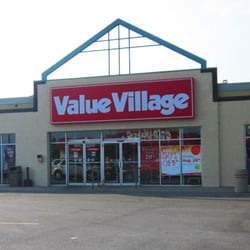 Value Village - Brantford, ON, Canadá.  Tienda de segunda mano y el centro de donaciones