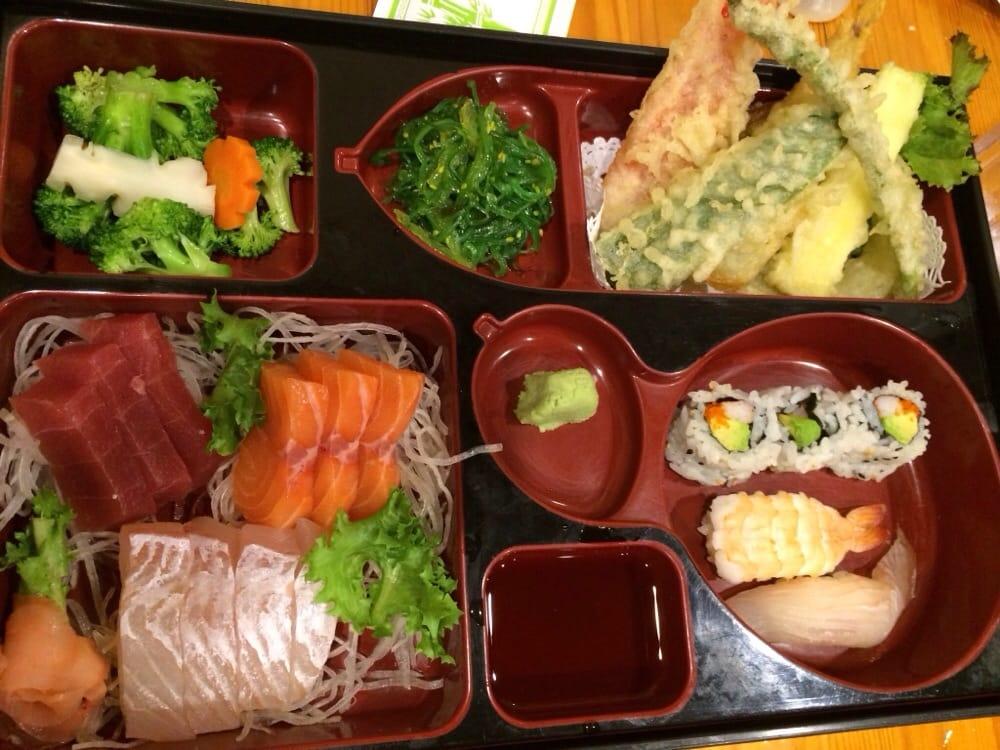 sashimi lunch bento box yelp. Black Bedroom Furniture Sets. Home Design Ideas