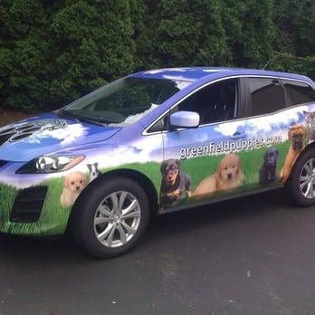 SUV Wrap - Greenfield Puppies Mazda - Yelp
