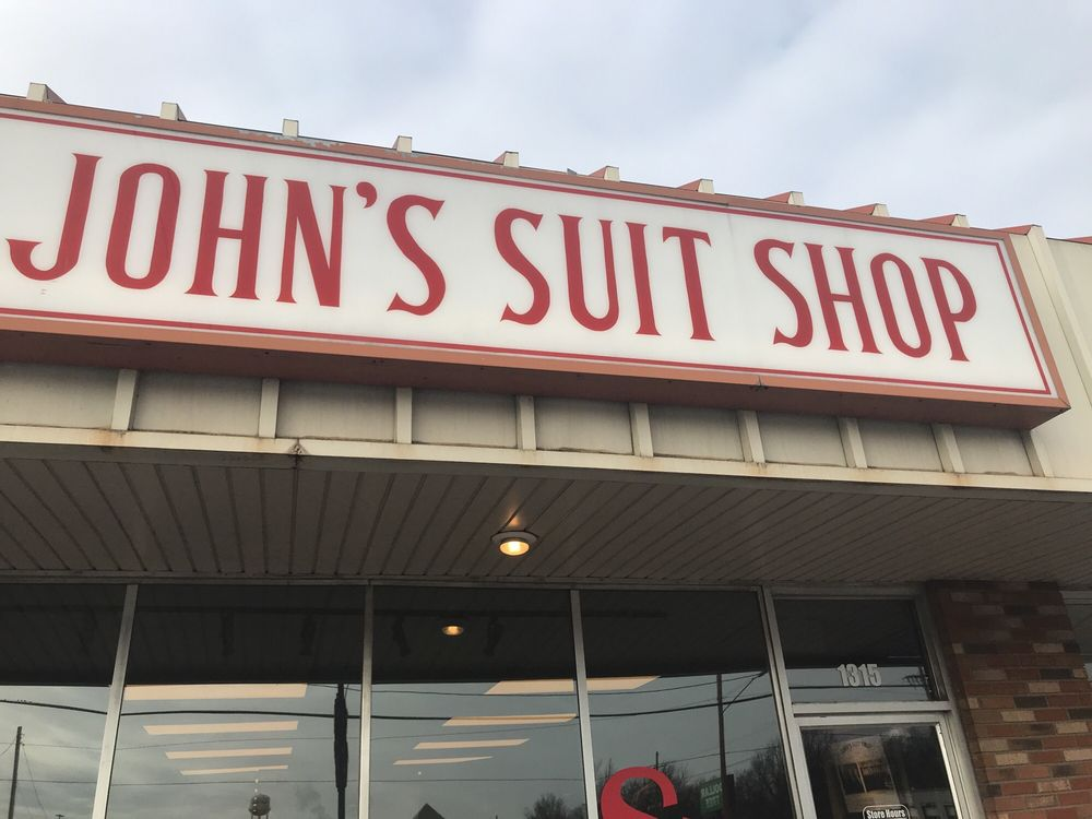 John's Suit Shop: 1315 S Glenstone Ave, Springfield, MO