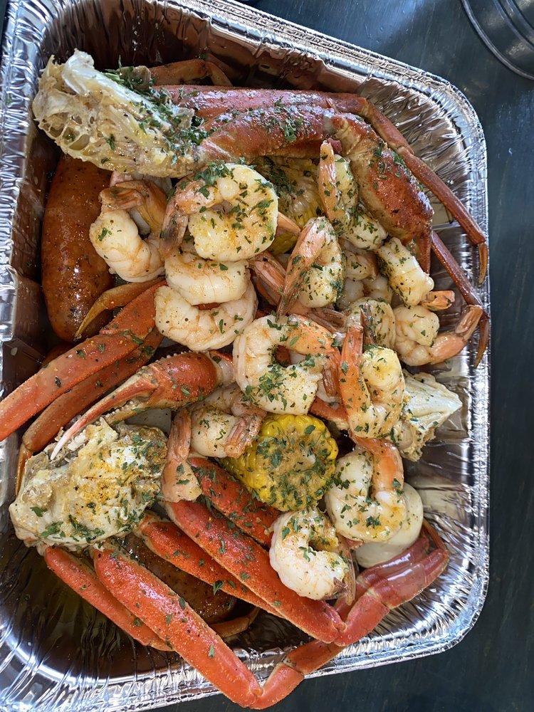 Krab Kingz Seafood Tulsa: 6921 S Lewis Ave, Tulsa, OK