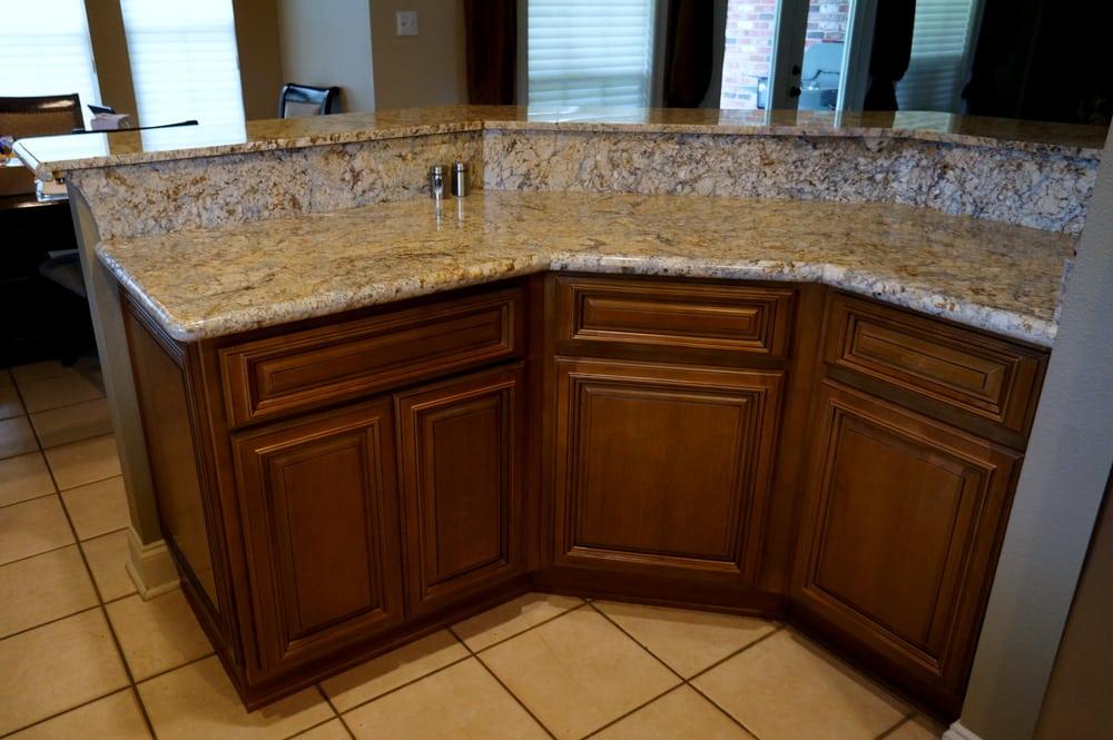 Yellow Moon Granite : New york glaze kitchen cabinets yellow moon granite