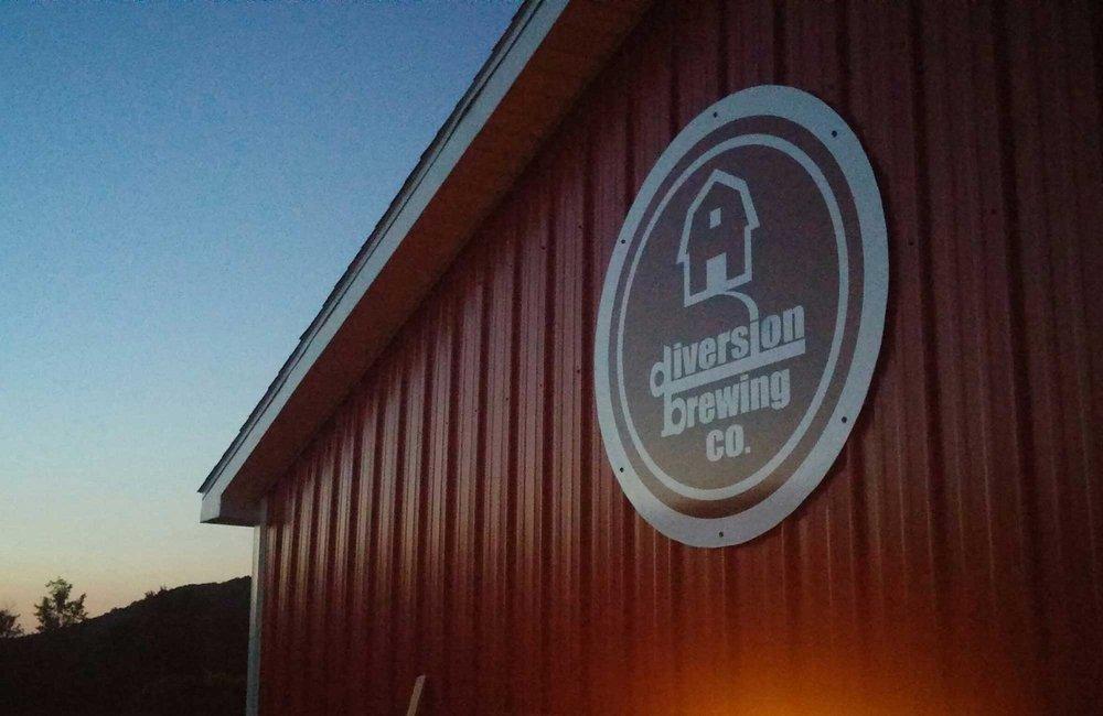 Diversion Brewing: 729 Wyncoop Creek Rd, Chemung, NY