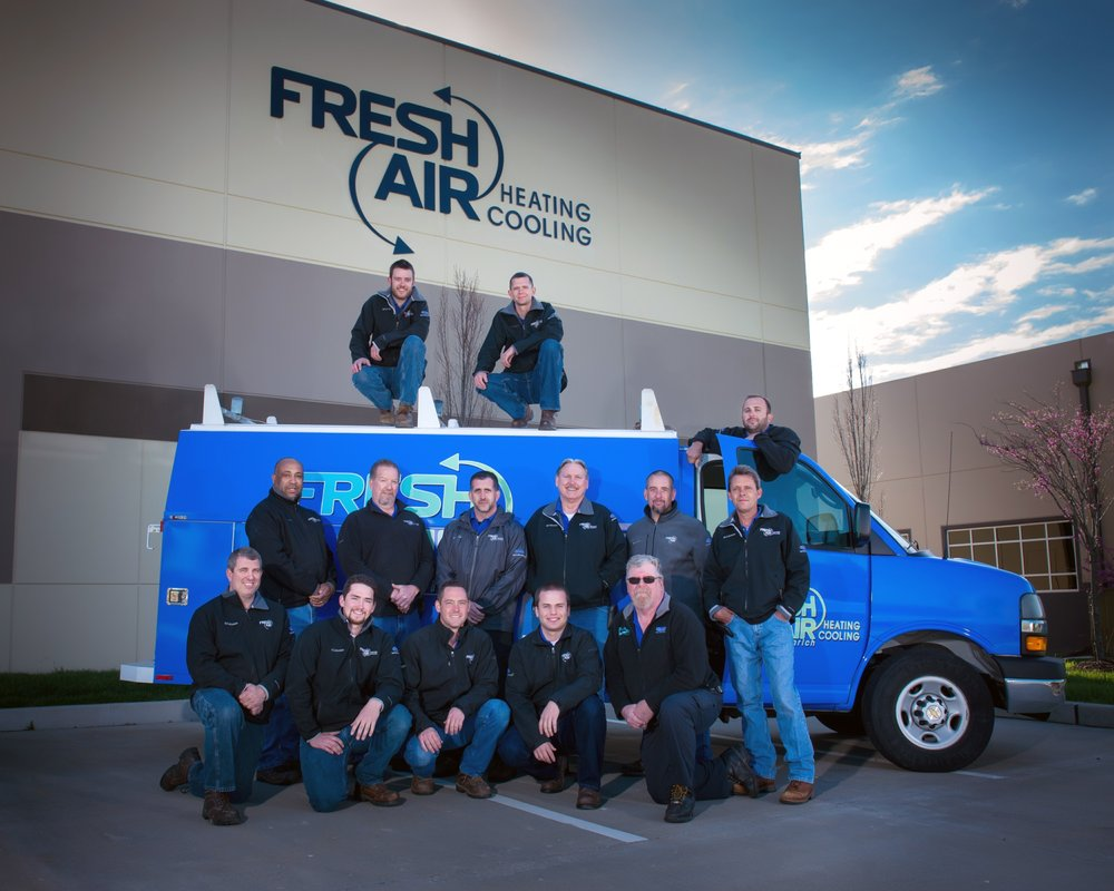 Fresh Air Heating & Cooling: 612 Spirit Valley E Dr, Chesterfield, MO