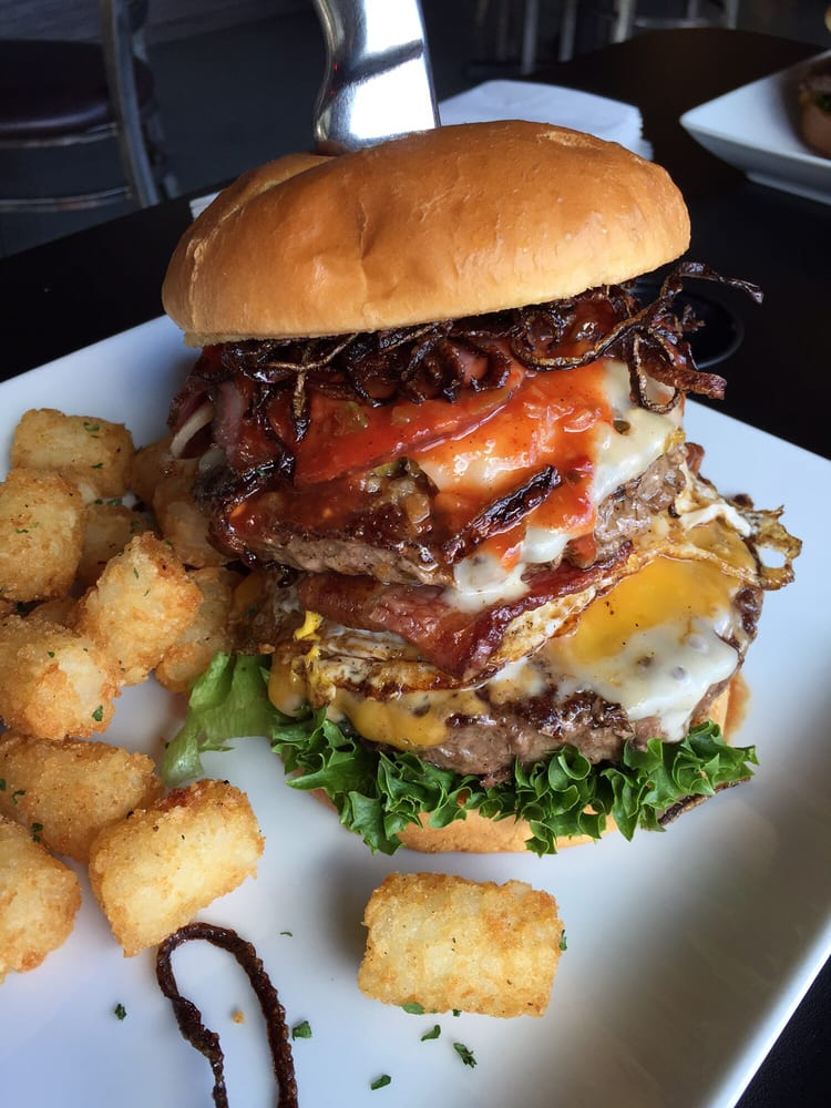 This Is The Zombie Burger This Is One Of Many Delicious
