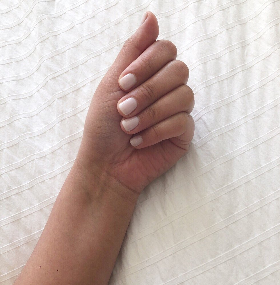 Nicely shaped, neat manicure - Yelp