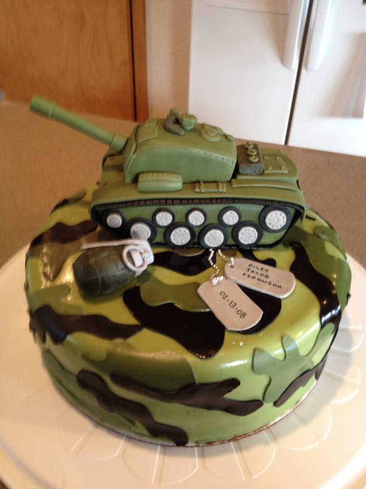 Army Birthday Cake - Yelp