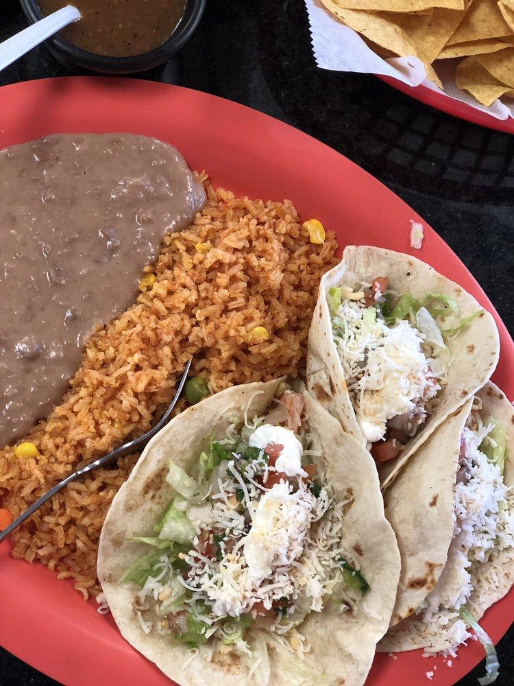 Food from La Botana Mexican Restaurant