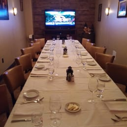 Sparkill Steakhouse - Sparkill, NY, United States. Downstairs private room