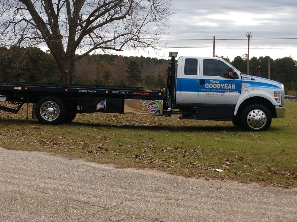 Kevin GoodYear Towing: 105 Holmes St, Troy, AL