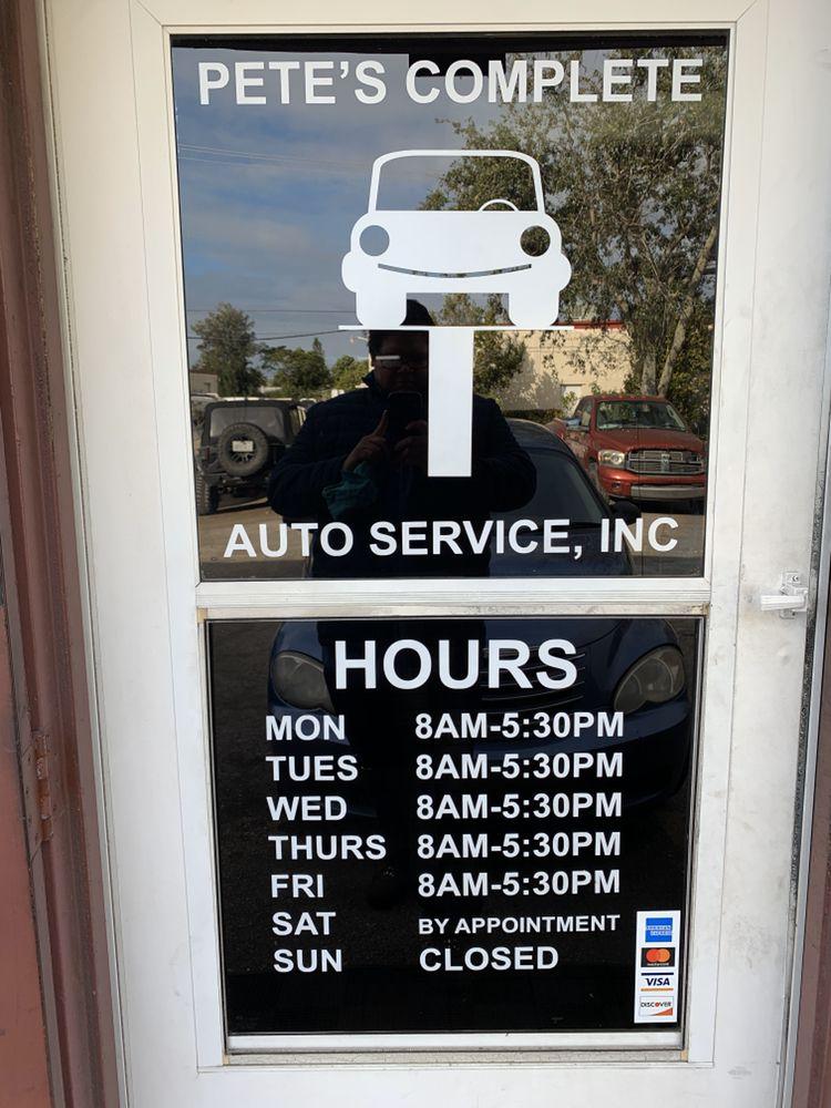 Pete's Complete Auto Service: 1385 NW 65th Ave, Plantation, FL