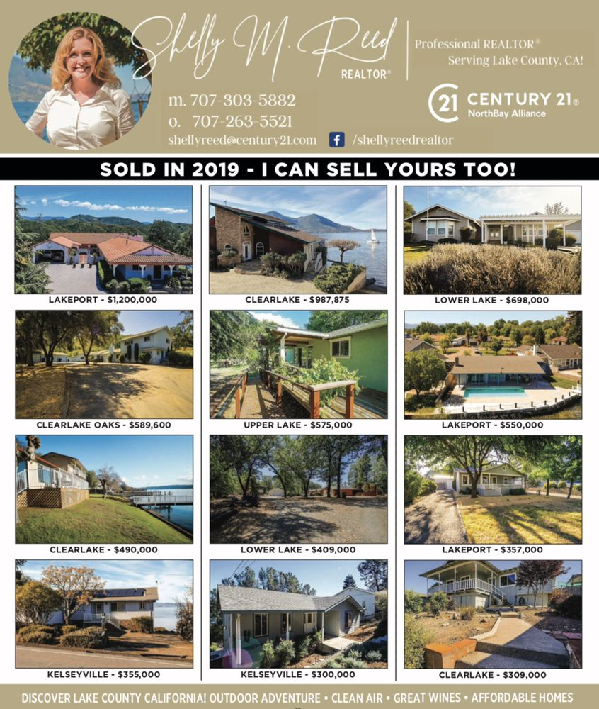Shelly M Reed-Century 21 NorthBay Alliance: 914 S Main St, Lakeport, CA
