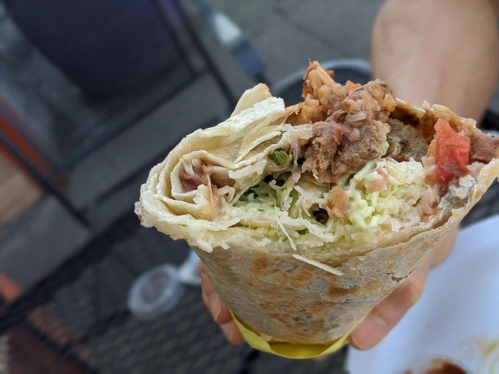 Food from Taqueria El Burrito