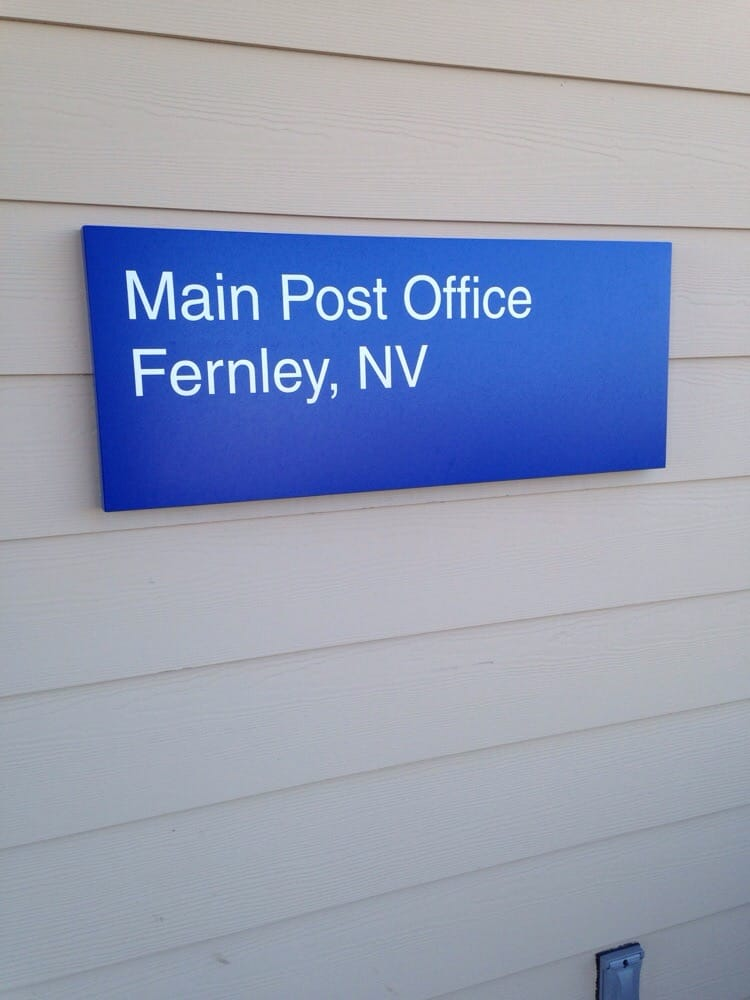 Us Post Office Offices 315 E Main St Fernley Nv Phone Number Yelp
